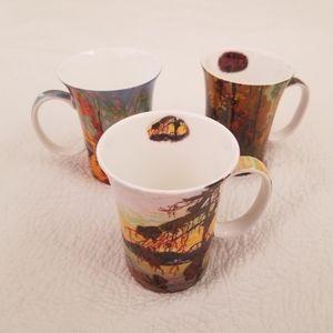 Group of Seven Set of McIntosh Tom Thomson Mugs